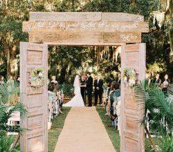 decor casamento placa