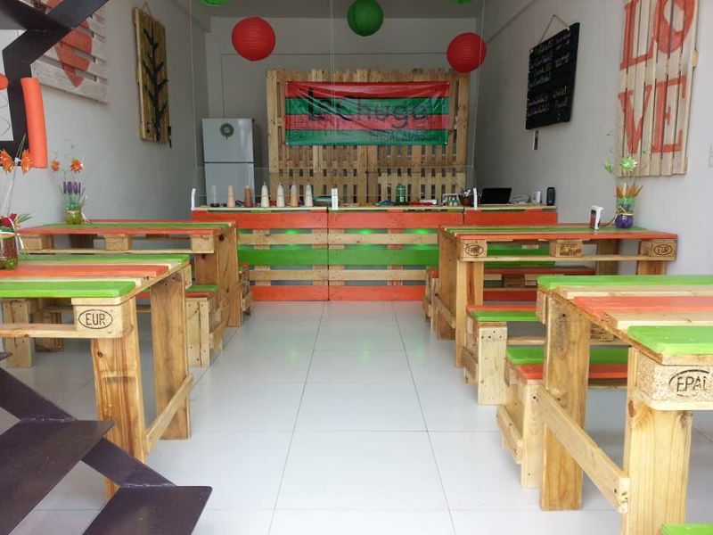 movel de pallet para bar