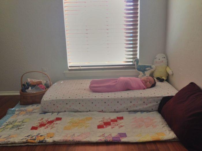 quarto montessoriano bebe