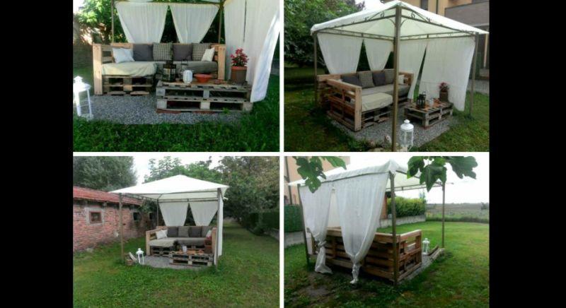 movel de pallet cabana