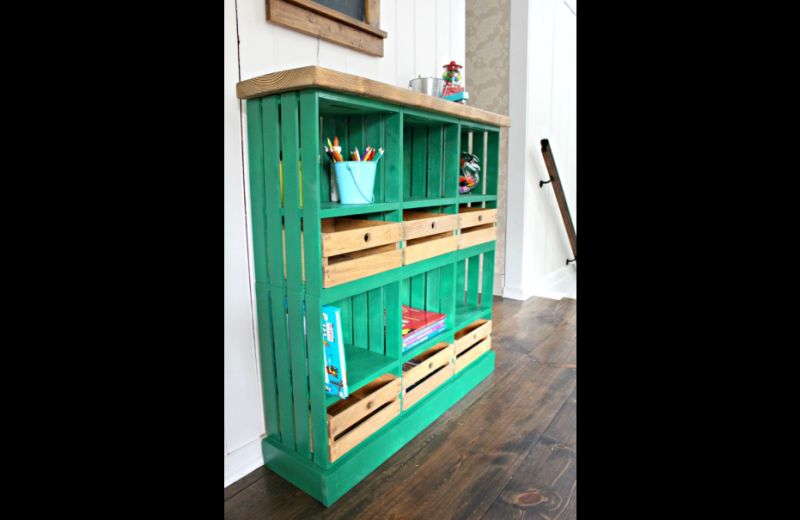 movel de pallet estante