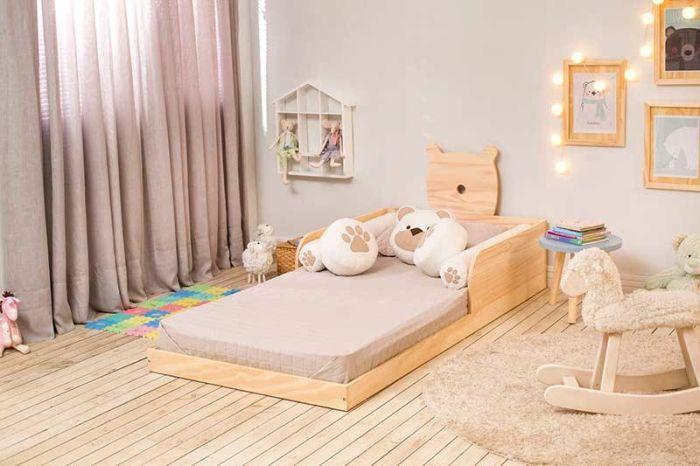 quarto montessoriano cama urso