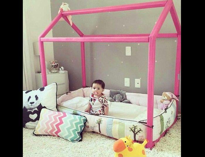 quarto montessoriano pink