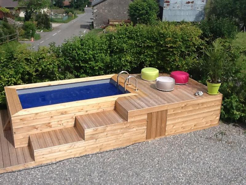 movel de pallet piscina