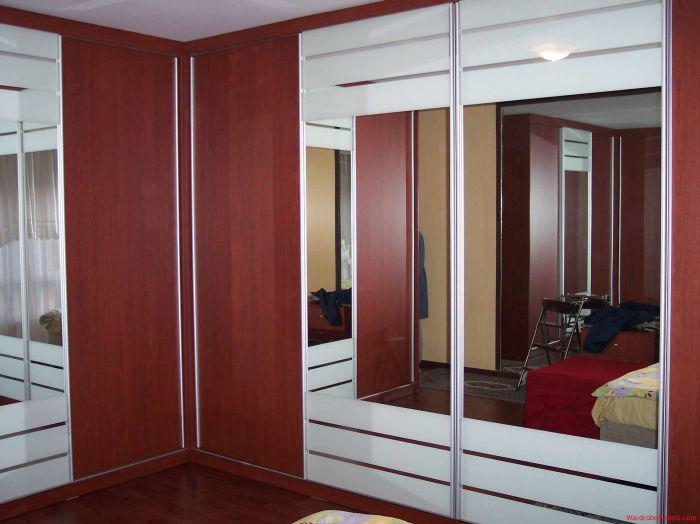 armario planejado vermelho