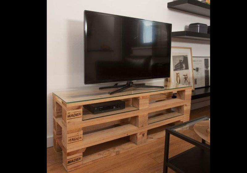 movel de pallet mesa tv