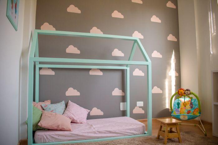 quarto montessoriano nuvem
