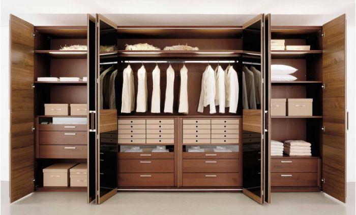 armario planejado com portas