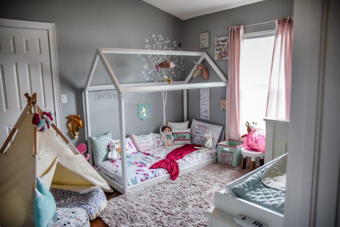 quarto montessoriano menina