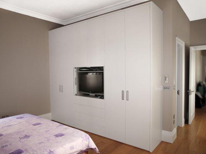 armario planejado branco