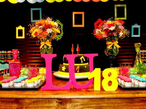 Festa Neon 65 Fotos Decoração Simples Ideias Como Fazer