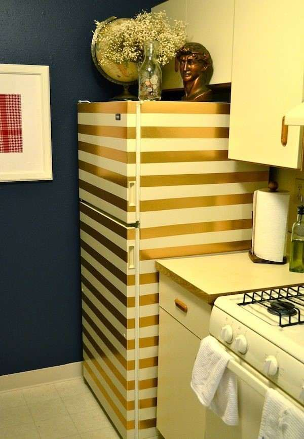 geladeiras envelopadas listras