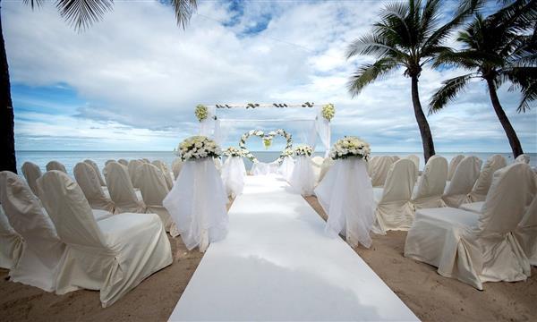 casamento na praia ao ar livre