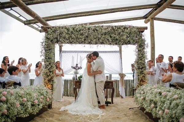 casamento na praia com mosquitinho