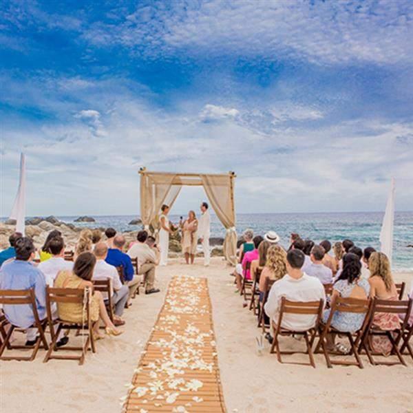 casamento pé a areia