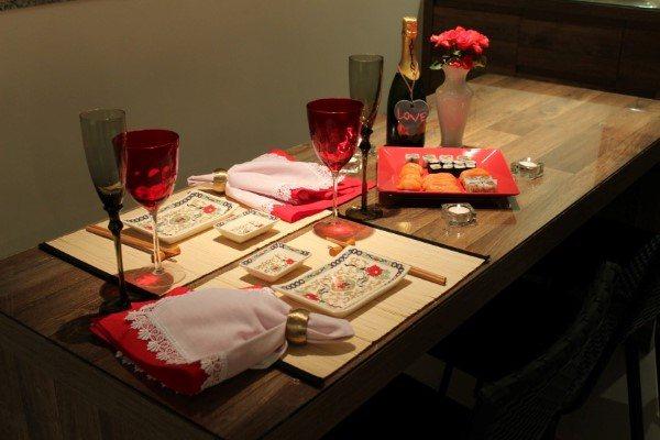 jantar romantico para marido