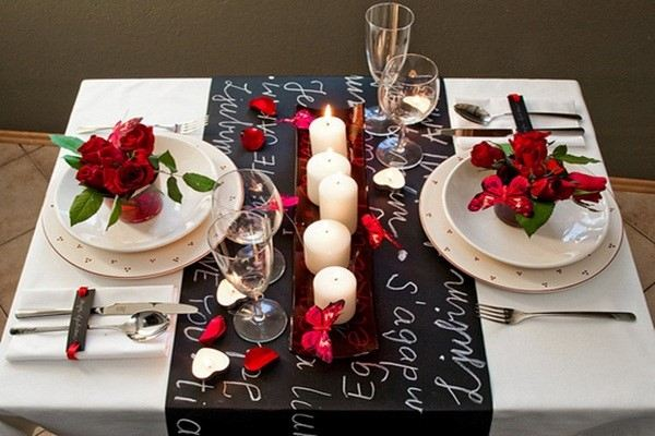 cardapio para jantar romantico a luz de velas