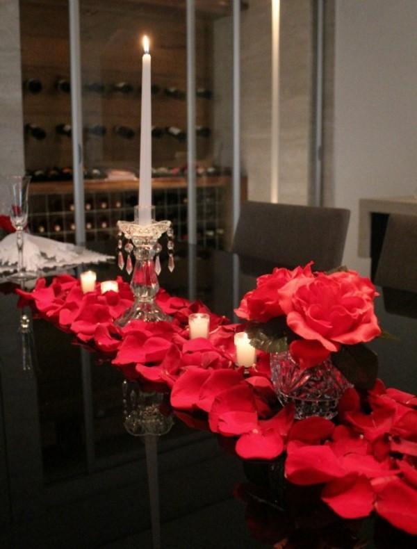 o que fazer em um jantar romantico