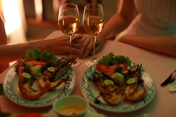 dicas de jantar romantico