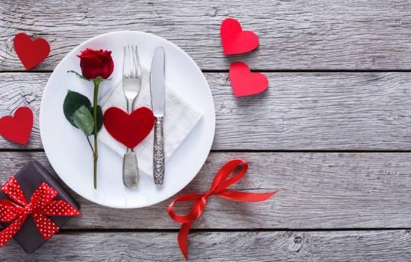 entrada para jantar romantico