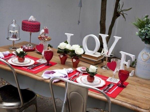 jantar romantico decoração criativa