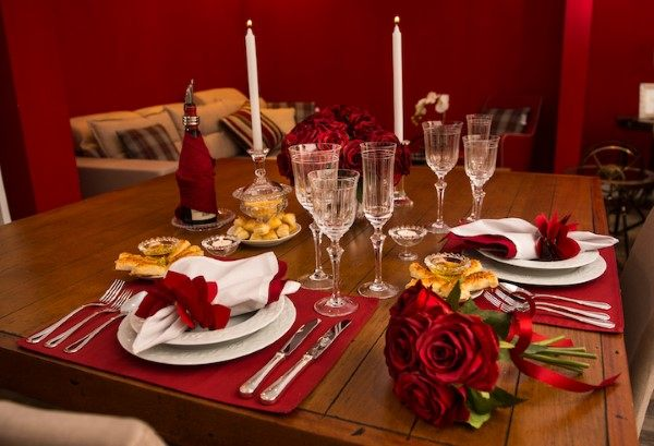decoração romantica