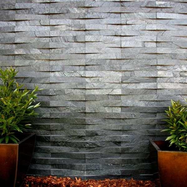 revestimento de pedra para muro