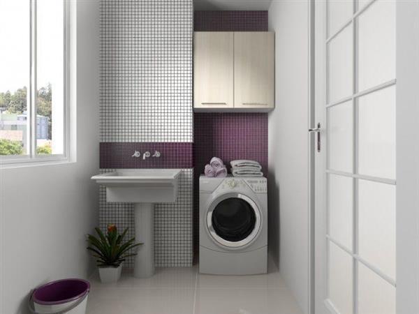 lavanderia com tanque