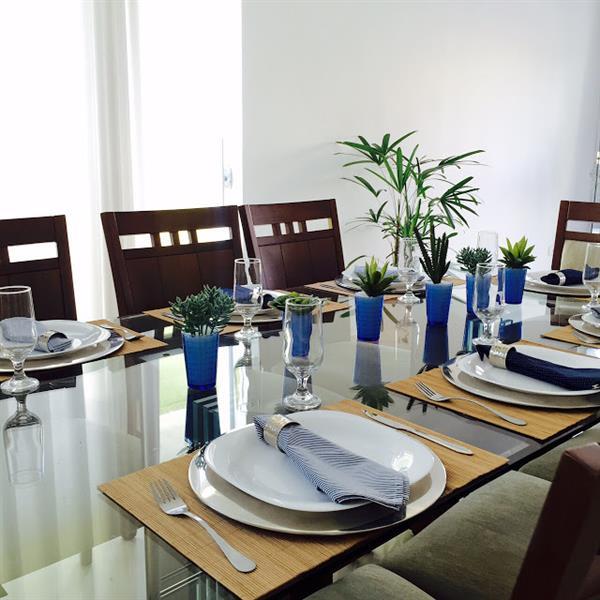 mesa posta para o dia dos pais
