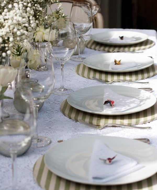 mesa posta jantar formal