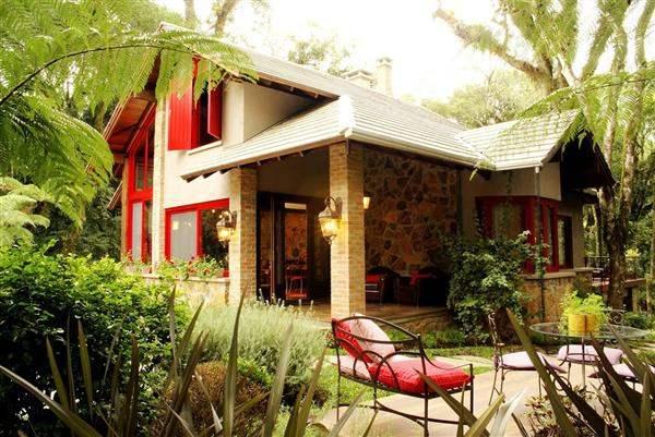 casa externa rustica