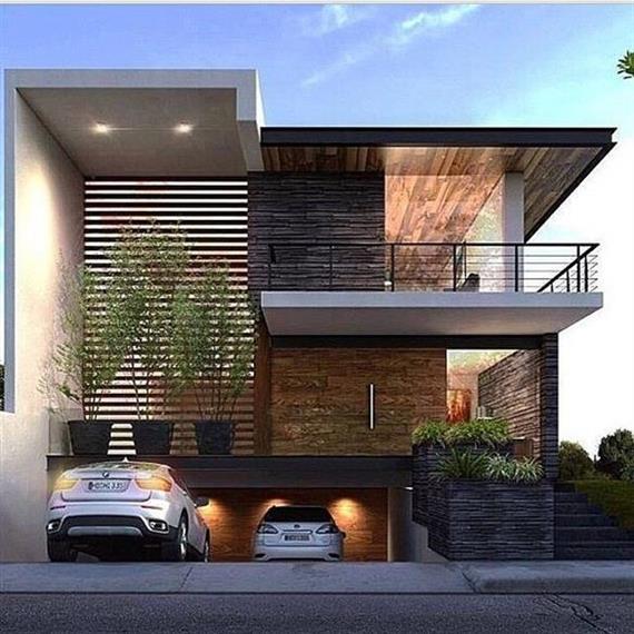casas com garagem subterranea