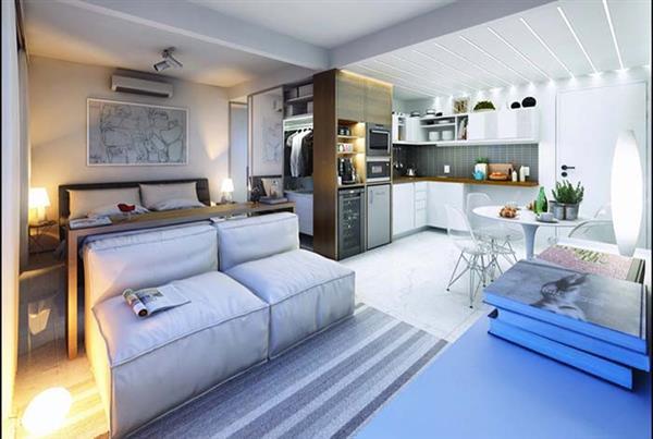 casas com ambientes integrados