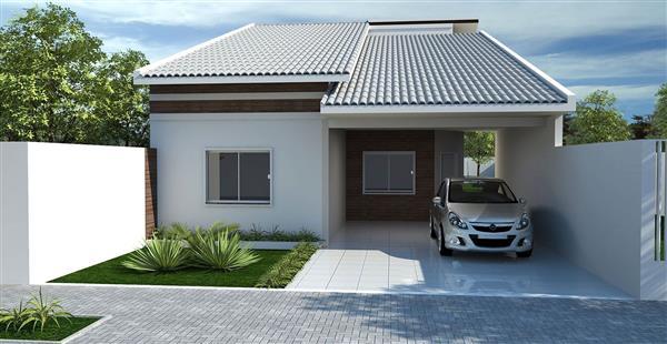 modelos de casas pequenas e simples