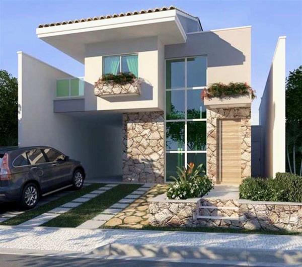 casas pequenas 2 pavimentos