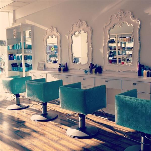 salão de beleza moderno