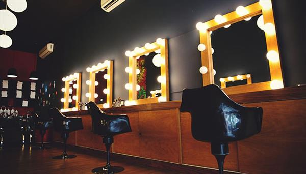 salão de maquiagem