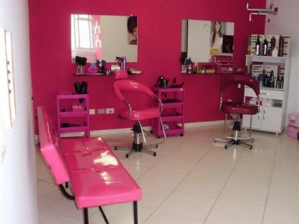 salão rosa pink