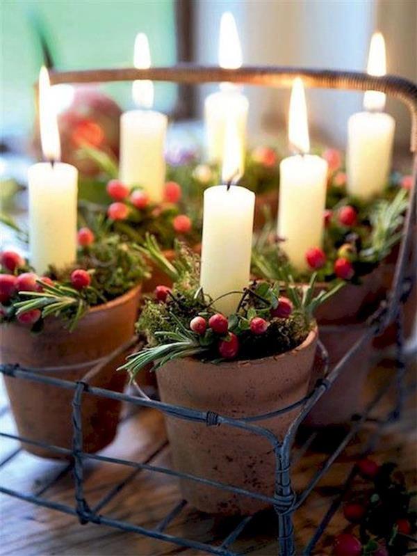 decoração de natal facil de fazer