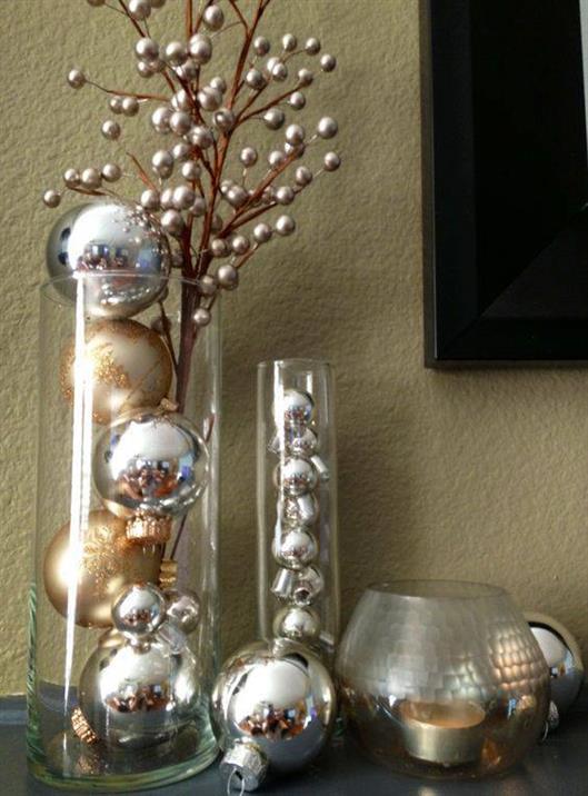 decoracao-de-ano-novo-vasos-com-bolas-metalicas