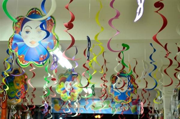 decoração simples de carnaval