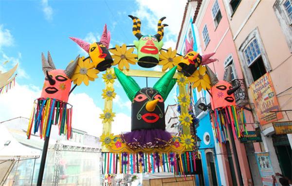 fotos de decoração de carnaval 2020