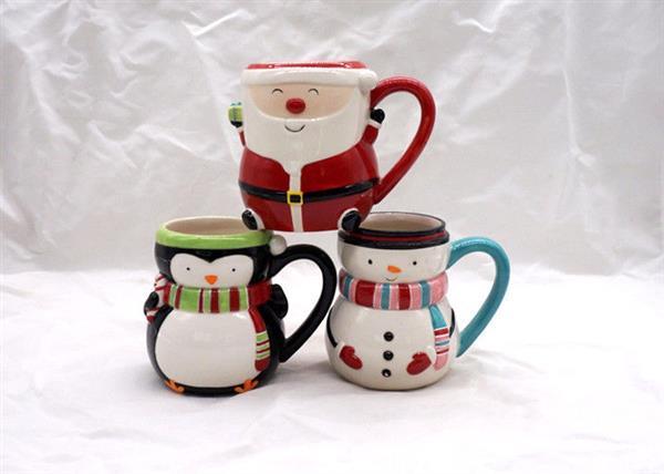 caneca de ceramica natal