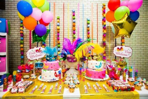 decoração de carnaval para aniversario