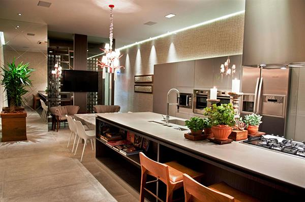 fotos de cozinha gourmet