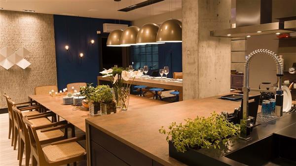 cozinha gourmet externa