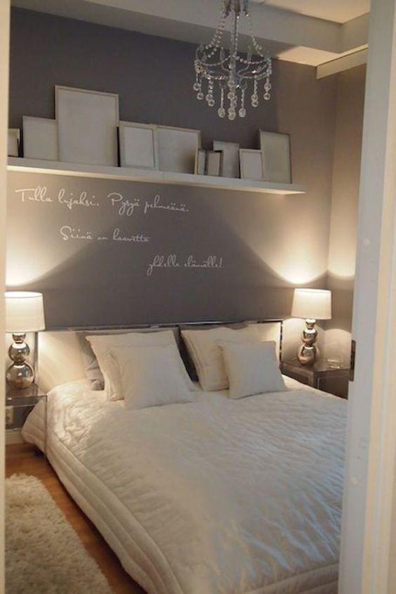 15 modelos de decora o para quarto de casal pequenos decor for Dormitorio principal m6 deco