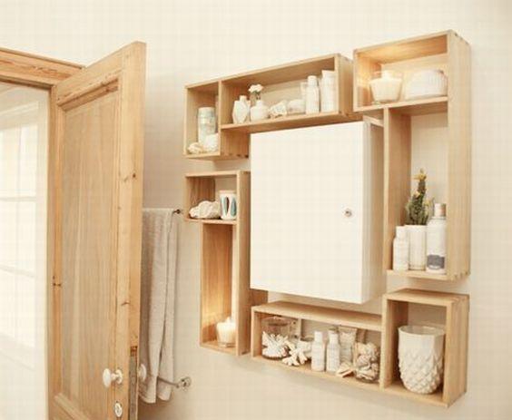 Nicho De Banheiro Madeira : Banheiros decorados com nichos de madeira fotoss? decor