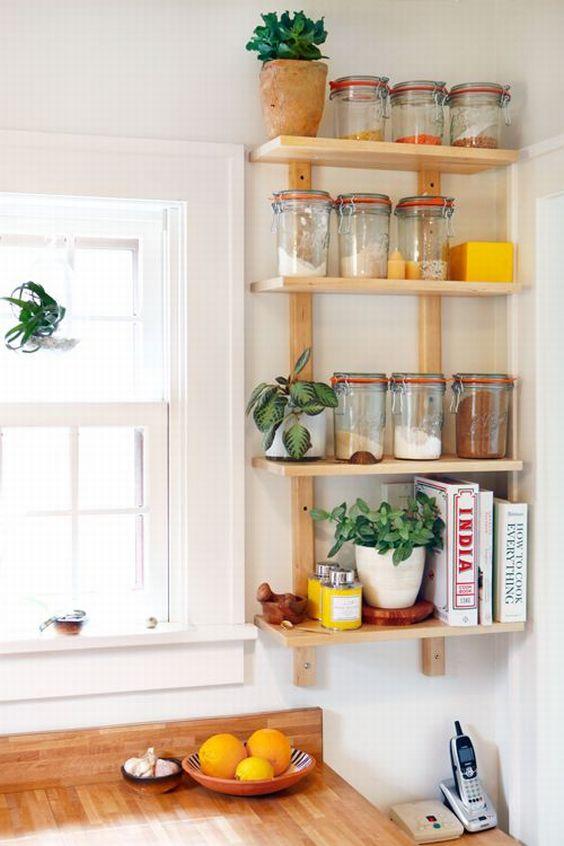 Decora o de cozinha simples e barata modelos fotoss decor for Porta cucharas cocina