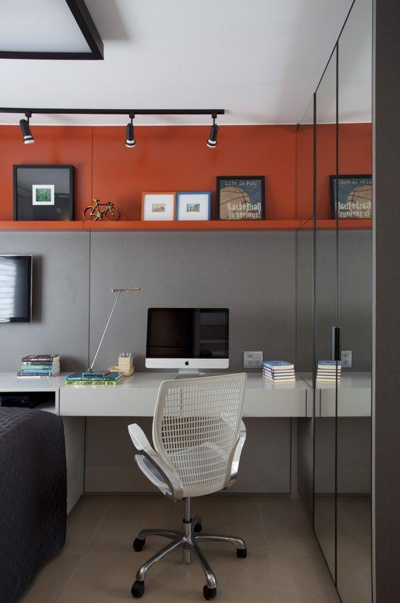 Decoraç u00e3o de Escritório em Apartamento Pequeno Fotos -> Decoração De Pequenos Apartamentos Fotos